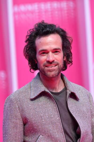 L'acteur de Verson Subutex, Romain Duris a fait rosir de plaisir le public