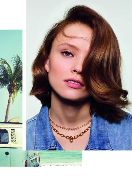 double tendance : carré long et side-hair par Dessange