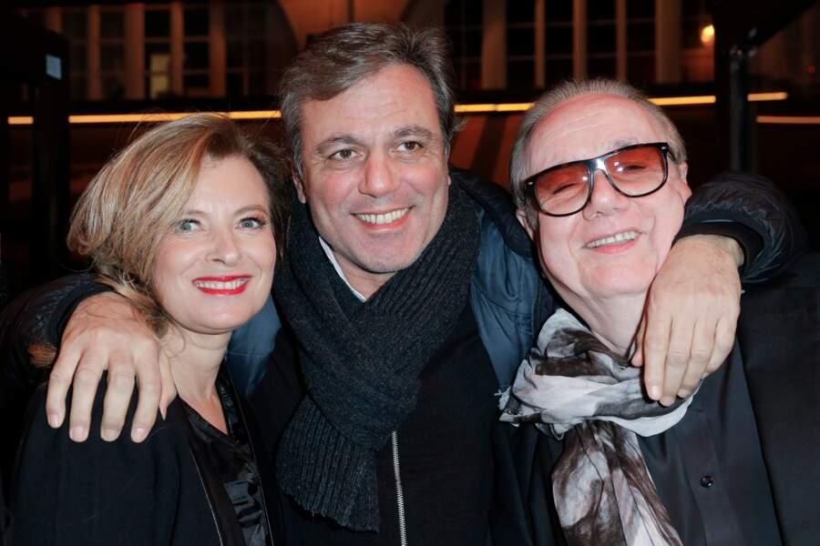 Valérie Trierweiler, Jean-Noël Mirande et Michel Michel