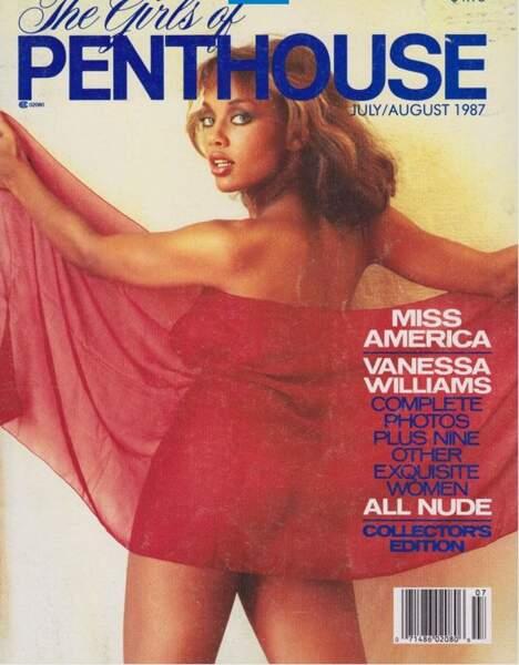 Vanessa Williams, Miss America 1984, a du renoncer à sa couronne à cause de cette série de clichés.