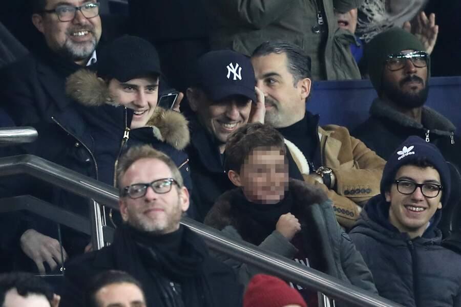Un joli moment père-fils enjolivé par la victoire du PSG