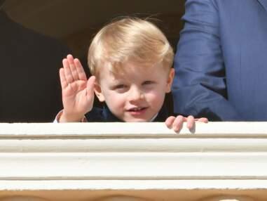 PHOTOS - L'adorable geste du prince Jacques de Monaco au balcon, sous le regard ému de ses parents
