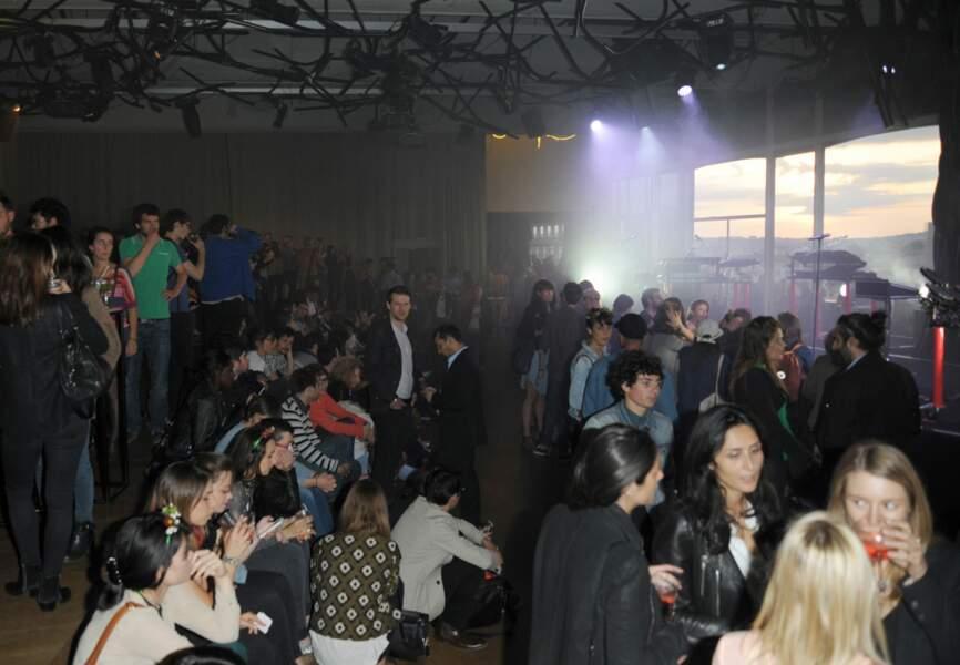 Chaud ambiance à L'Electric pour l'Opening Party de MA TERRAZZA