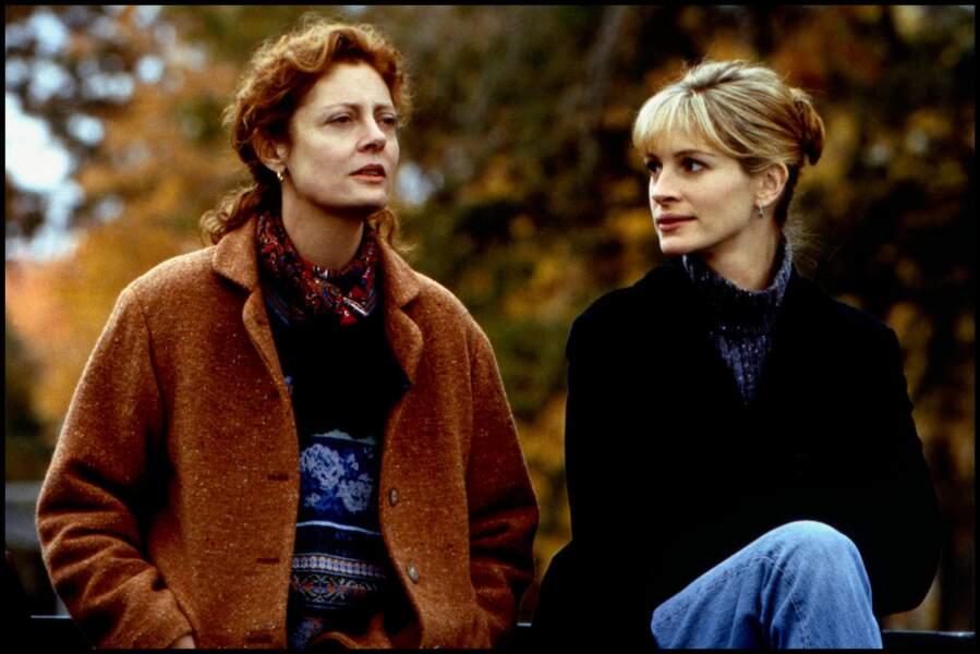 """Avec Susan Sarandon dans """"Ma Meilleure Ennemie"""" en 1998"""