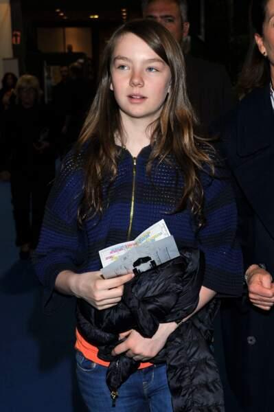 La princesse Alexandra de Hanovre aux mondiaux de patinage le 27 mars 2012