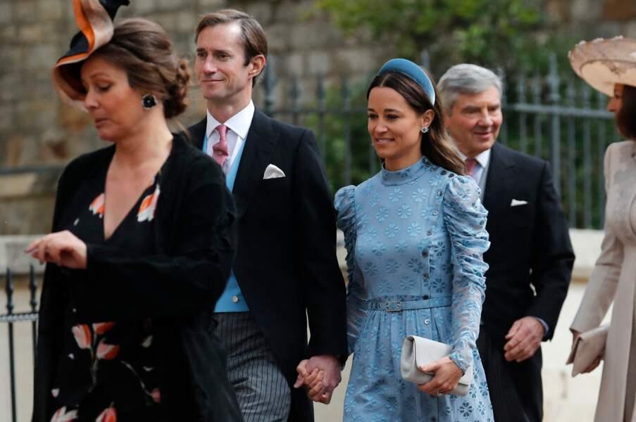 Pippa Middleton était rayonnante au bras de son mari, James Matthews, le 18 mai 2019