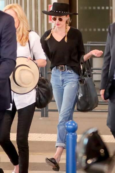 Amber Heard à Paris