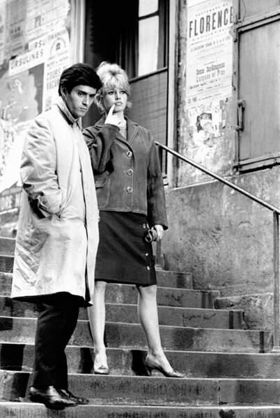 Brigitte Bardot et Samy Frey EN 1960
