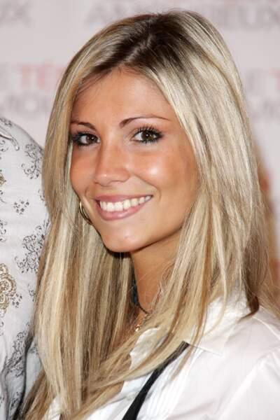Alexandra Rosenfeld, première Miss France blonde a être élue, en 2006