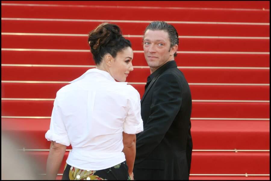 Monica Bellucci et Vincent Cassel à Cannes en 2006