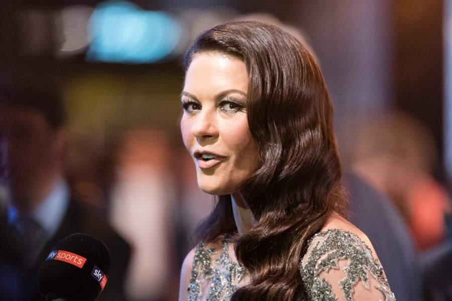 Catherine Zeta-Jones lors des Best FIFA Football Awards