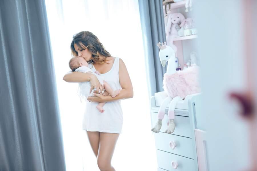 Laetitia Milot a doucement reperdu ses 13/14 kilos de grossesse sans stresser
