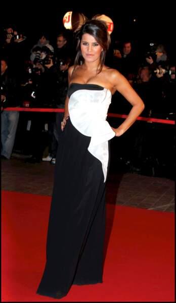 Karine Ferri aux NRJ Music Awards à Cannes, en 2011