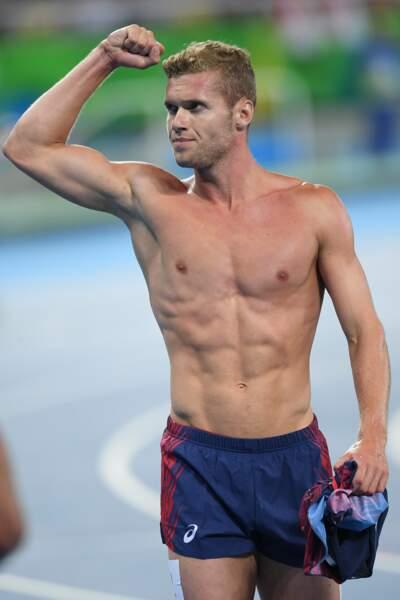 Kévin Mayer a affiché sa plastiue de rêve au JO de Rio en 2016