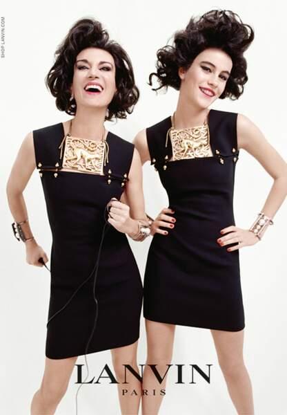 Violetta Sanchez et Luz Godin pour Lanvin