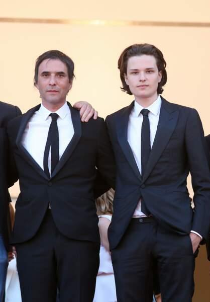 Jules Benchetrit a monté les marche du festival de Cannes en 2015 pour défendre le film de son père, Asphalte