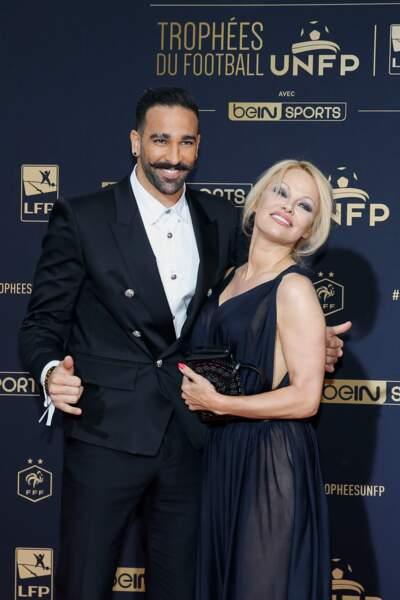 Adil Rami était invité pour remettre un prix aux meilleurs arbitres de Ligue 1 et Ligue 2