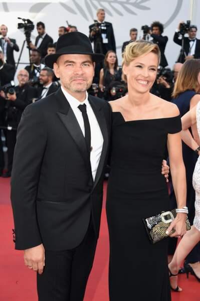 Clovis Cornillac et sa femme Lilou Fogli