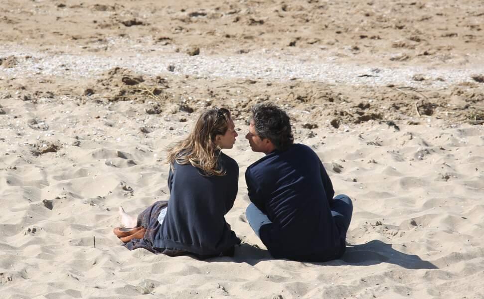 Laura Smet et son compagnon Raphaël au Festival du film romantique de Cabourg, le 14 juin 2014