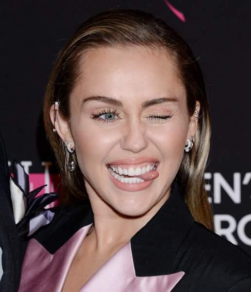 Miley Cyrus serait enceinte: le futur bébé aura de beaux yeux, même s'ill hérite de ceux de son papa Liam Hemsworth