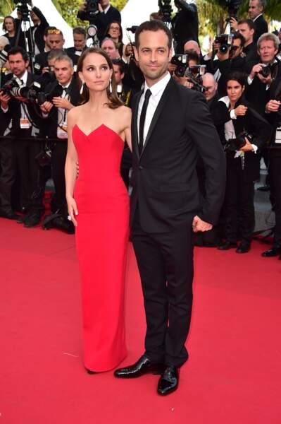 Natalie Portman et Benjamin Millepied en 2015