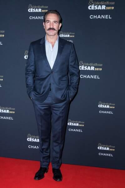 Jean Dujardin à la soirée des révélations des César 2019 au Petit Palais à Paris le 14 janvier 2019
