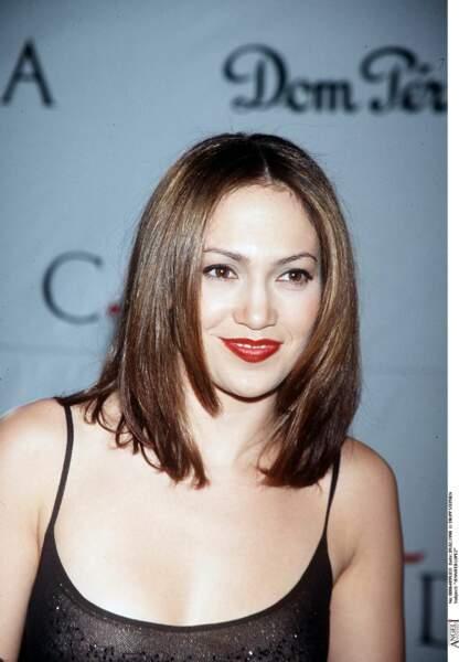 Jennifer Lopez au début de sa carrière : une toute jeune fille dans les années 90