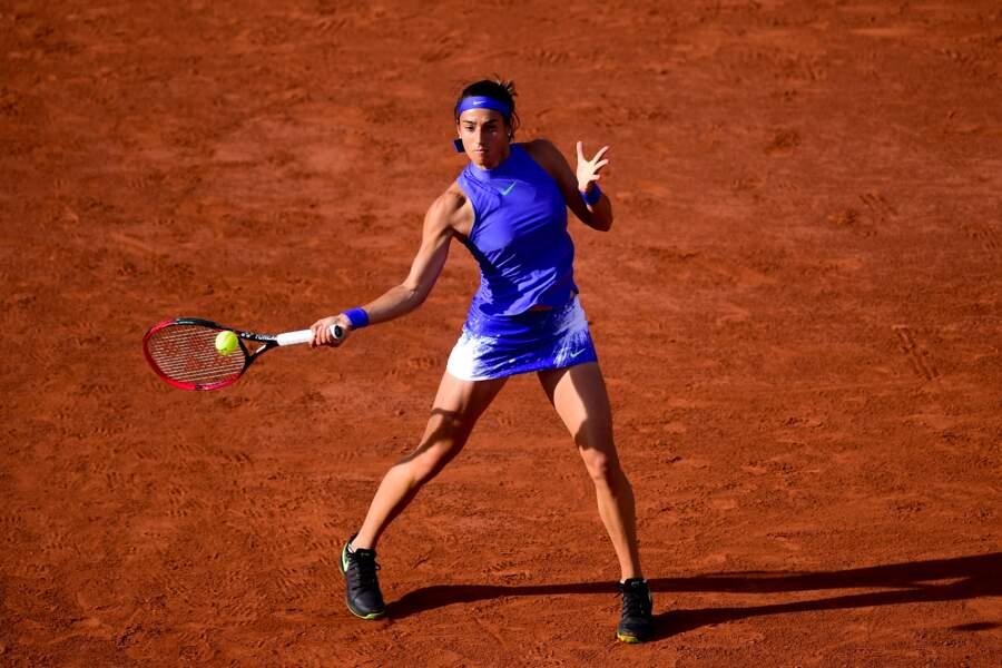 Caroline Garcia, à Roland Garros