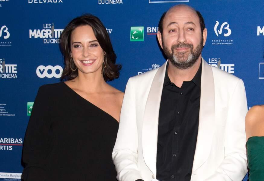 Kad Merad et sa compagne Julia Vignali  à Bruxelles en Belgique en 2016