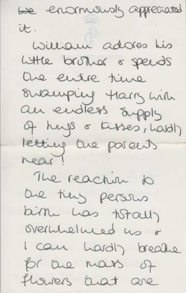 Les lettres écrites par Lady Diana, princesse de Galles, à Cyril Dickman vendues le 5 janvier 2017