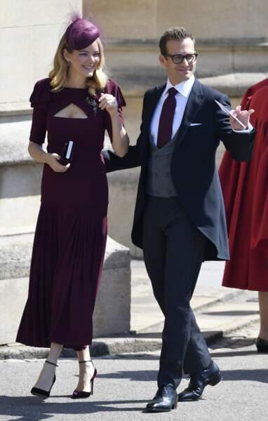 Gabriel Macht et sa femme Jacinda Barrett