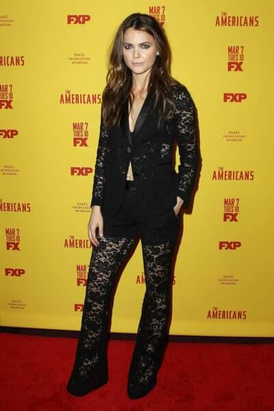 """Keri Russell, pour la saison 5 de """"The Americans"""" à New York"""