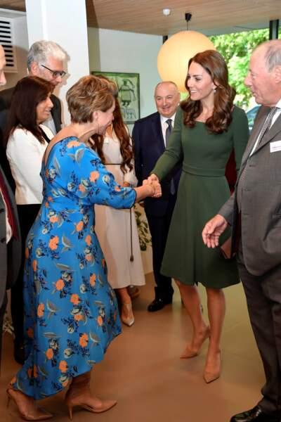 Kate Middleton tout sourire en solo lors des rumeurs de bisbille avec William