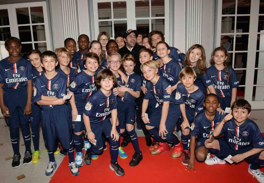 Les escort kids du PSG et Jamel Debbouze