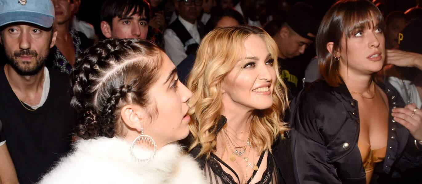Lourdes et Madonna