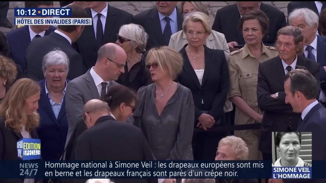 Claude Chirac la fille de Jacques Chirac représente son père