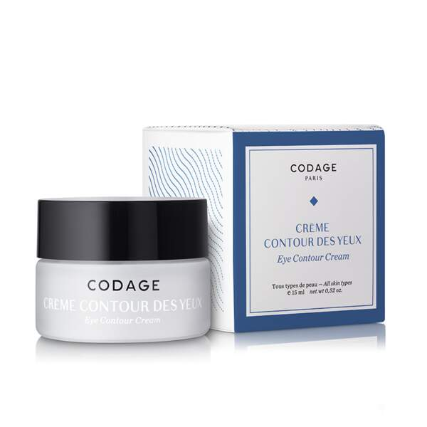 Crème contour des yeux, Codage, 65 €