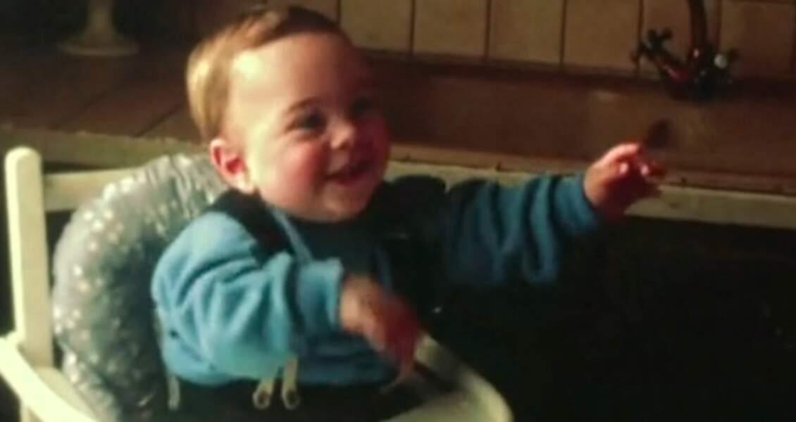 Grégory Lemarchal bébé