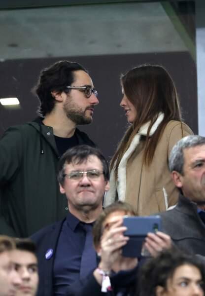 Le couple a assisté au match de rugby opposant la France à la Nouvelle-Zélande.