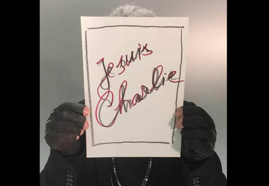 Karl Lagerfeld - #jesuischarlie