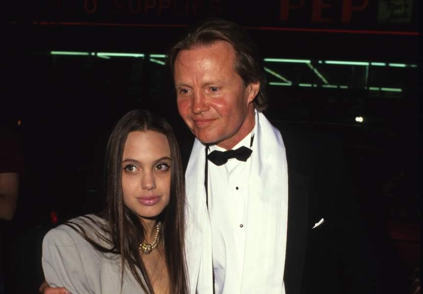 Angelina Jolie avec son père John Voight