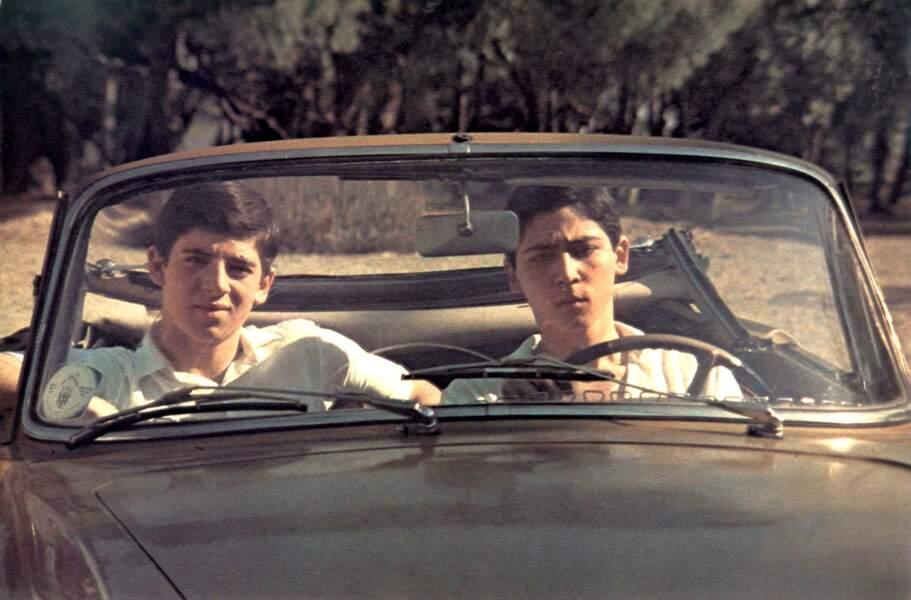 """Patrick Bruel dans le film """"Le Coup de Sirocco"""", d'Alexandre Arcady, en 1978"""