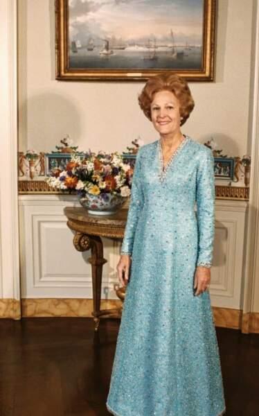 1973 : Pat Nixon en Adele Simpson pour la deuxième investiture de son épou