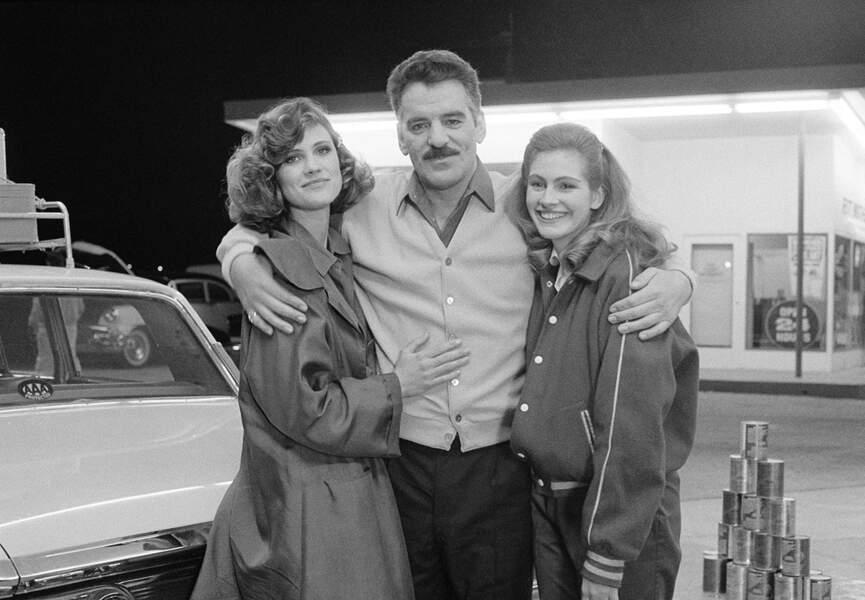 """Dans la série """"Crime Story"""", l'un de ses premiers rôles à la télévision, en 1987"""