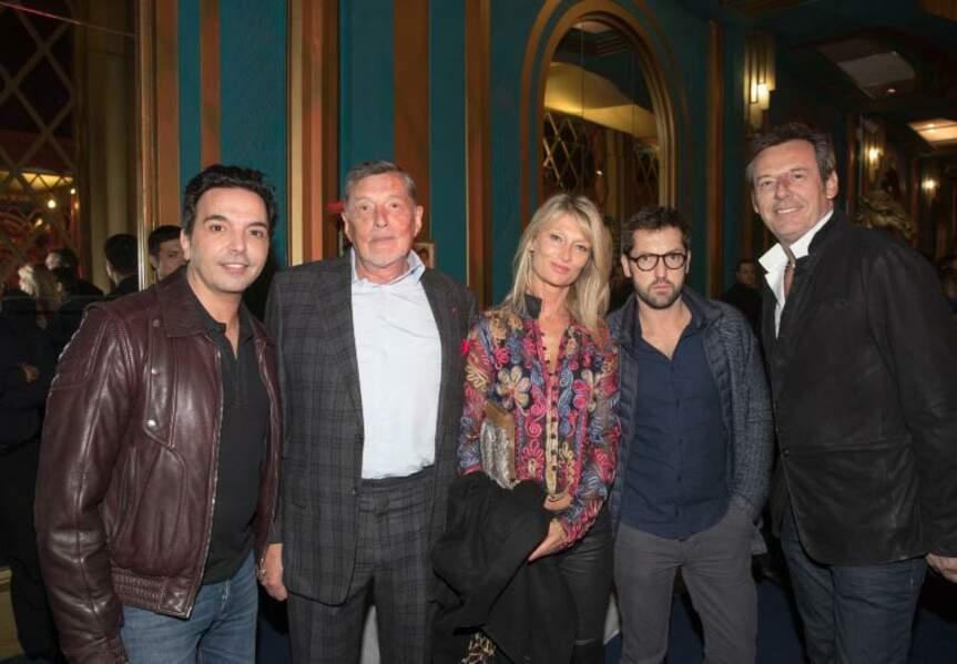 Kamel Ouali, Jean-Claude Camus, sa filel Isabelle, Frédéric  Diefenthal et