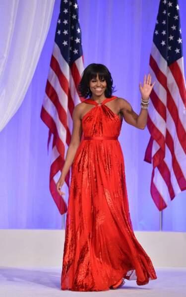 2013 : Michelle Obama avait de nouveau fait appel à Jason Wu