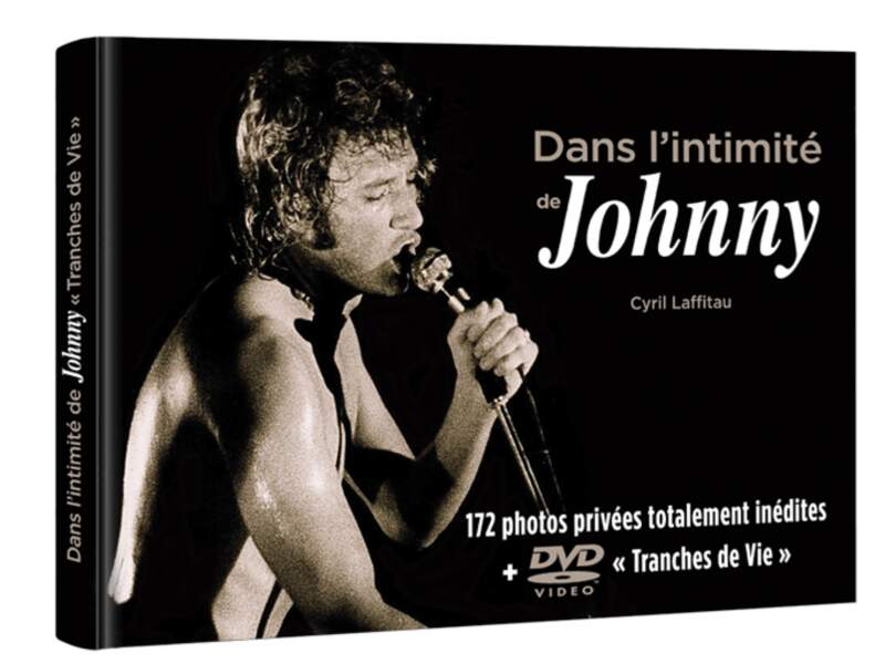 "Coffret ""Dans l'intimité de Johnny"" par Cyril Laffitau, 35 €,  Editions Best of Company."