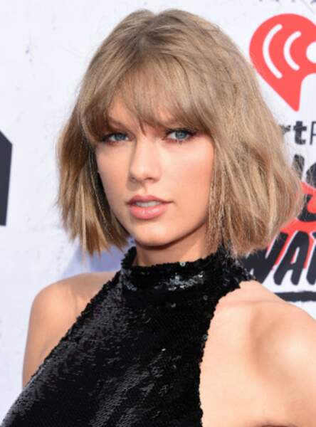 La frange brouillon de Taylor Swift