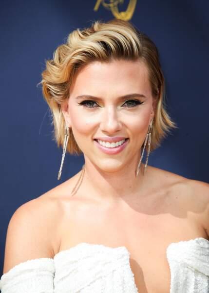 Scarlett Johansson utilise du vinaigre de cidre pour resserrer ses pores