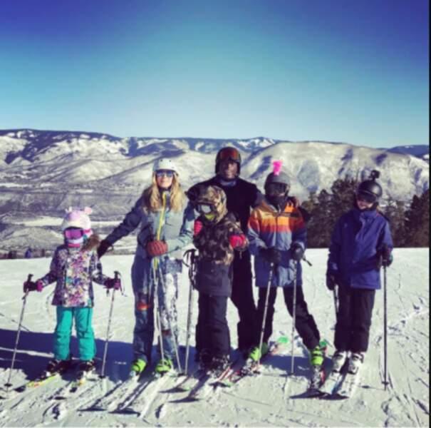 Heidi Klum, Seal et les enfants